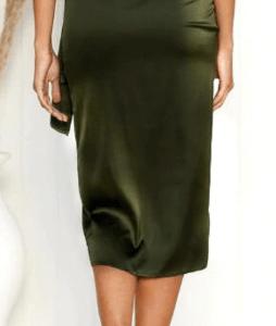 Sexy Leopard Print Wrap Women Skirt Autumn Split Large Size Satin Pencil Midi Skirt Vintage Bandage Winter Skirt Female