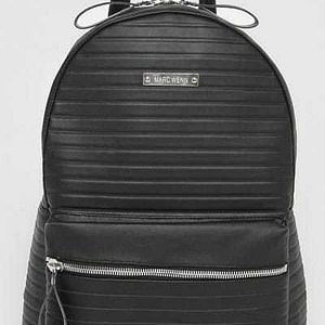 Marc Wenn Armadillo Backpack Black