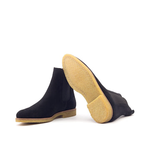 Black Onyx Crepe Sole Boots