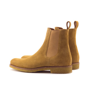 Marc Wenn Chelsea Boots. Whickey Suede