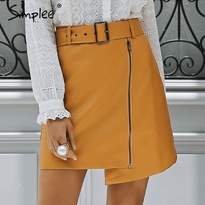 mustard-skirt-leather-short-mini-autumn-skirt-club-2018-style-forstepstyle-marketplace