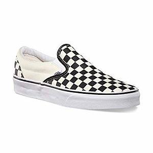 black-and-white-slips-on-vans-checkerboard