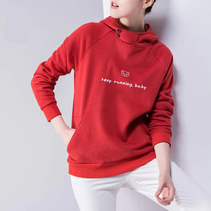 red-womens-sweatshirt-long-sleeve-pullover