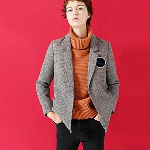 plaid-blazer-for-women-casual-grey-long-sleeve-work-blazer