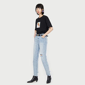womens-ripped-jeans-vintage-straight-leg-ankle-leg-blue-jeans