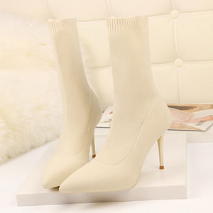 sock ankle boots
