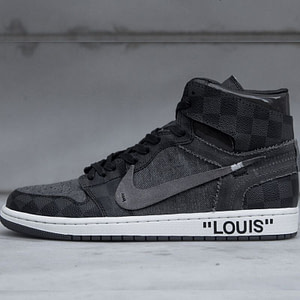 Air Jordan x Louis Vuitton x Off White - Black 1