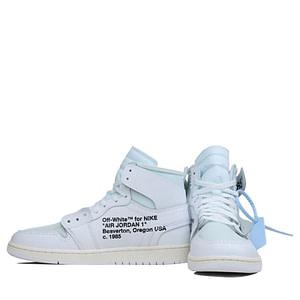 Nike Air Jordan 1 x Off White Chicago All White Color 3 AQ8296