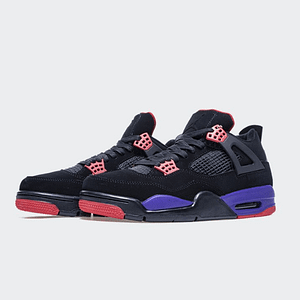 jordan 4 black and purple