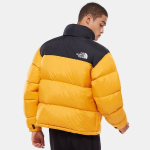 north face yellow jacket
