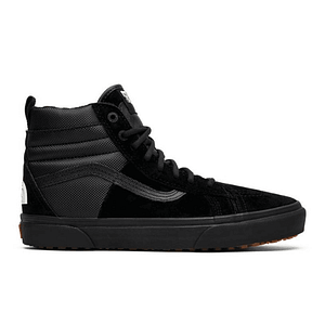 vans north face black