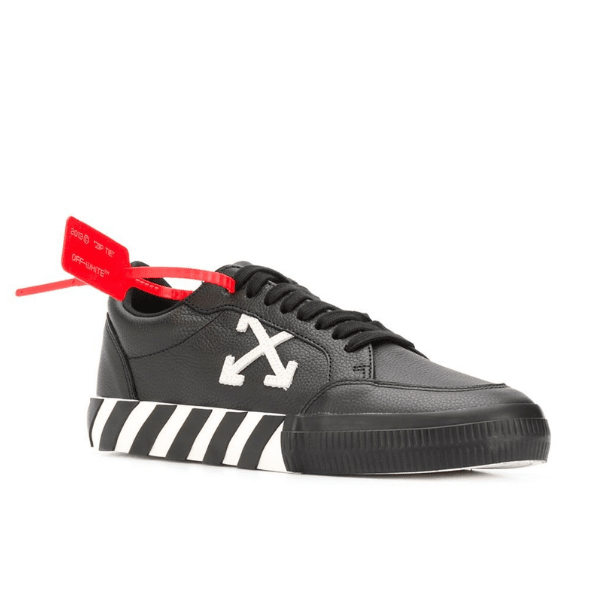 off white arrow low top sneakers
