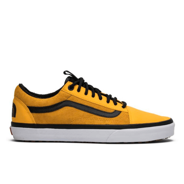 vans the north face yellow